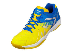VICTOR AS-36W-EF BADMINTON SHOES (YELLOW/BLUE)