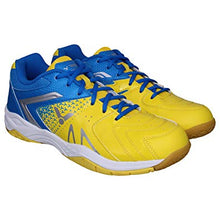 Load image into Gallery viewer, VICTOR AS-36W-EF BADMINTON SHOES (YELLOW/BLUE)