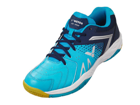 VICTOR AS-36W-MB BADMINTON SHOES (BABY BLUE/BLUE)
