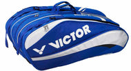 Victor BR7201F Blue/Silver Badminton racket Bag (12 piece)