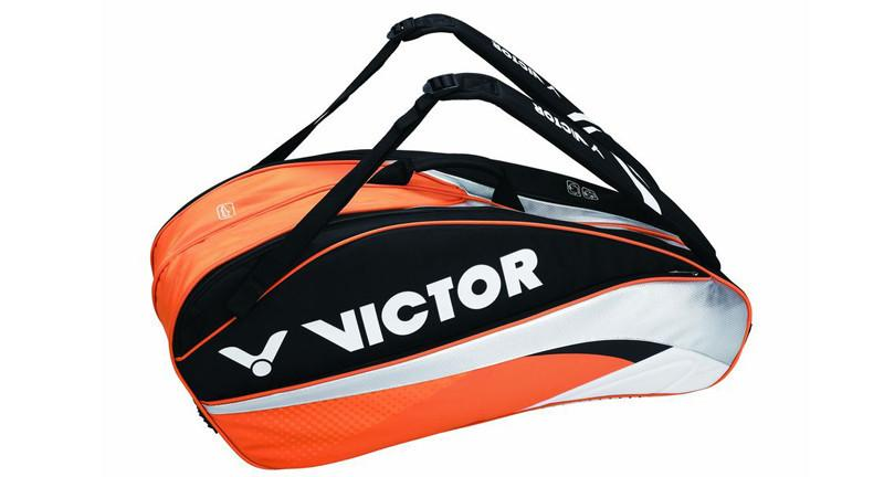 Victor BR7201O Orange/Black Badminton racket Bag (12 piece)