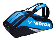Victor BR8208 F Blue/Black Badminton Bag (12 Racket)