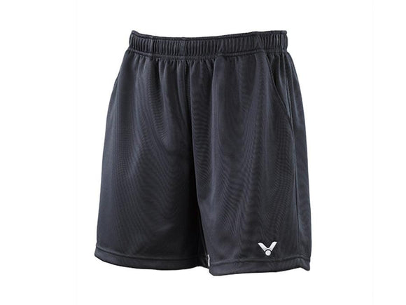 VICTOR R-3096 K UNISEX BADMINTON SHORTS [DARK GREY]