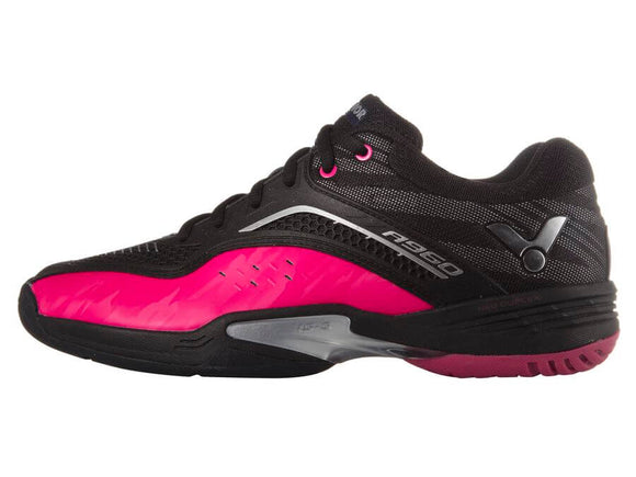 VICTOR A960-CQ BADMINTON SHOES (UNISEX BLACK/PINK)
