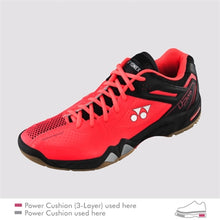 Load image into Gallery viewer, Yonex SHB-PC-02 LTD Bright Red Badminton Shoes