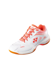 POWER CUSHION 65 X2 (WOMEN'S) YONEX BADMINTON SHOES - WHITE