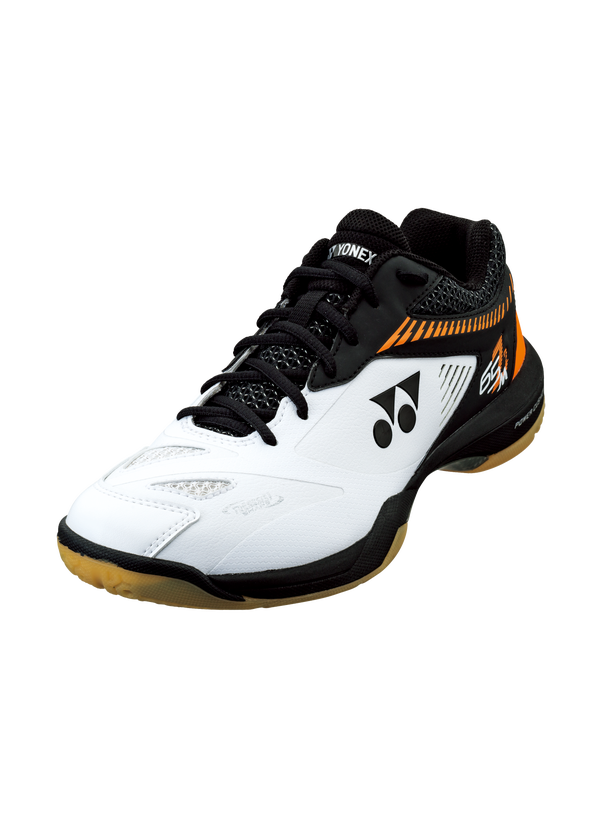 POWER CUSHION 65 Z 2 (MEN'S) YONEX BADMINTON SHOES - White/Orange