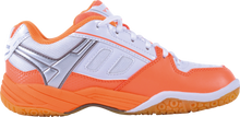 Load image into Gallery viewer, VICTOR SH-A320L WHITE/ORANGE BADMINTON LADIES SHOE