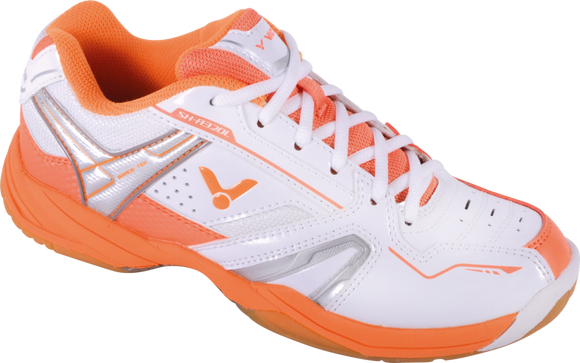 VICTOR SH-A320L WHITE/ORANGE BADMINTON LADIES SHOE