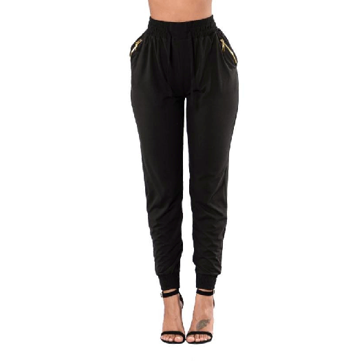 WOMEN'S HIGH WAIST LOOSE PANTS TROUSER