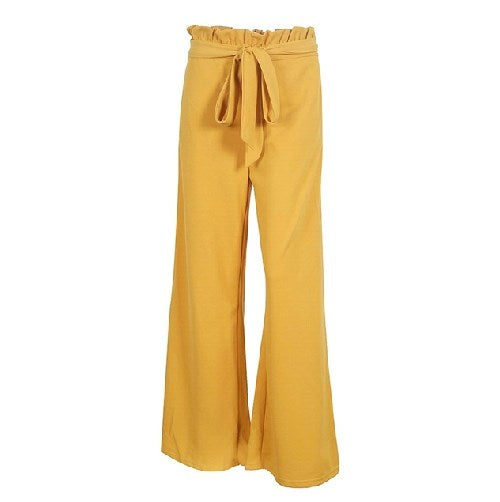 WOMEN'S HIGH WAIST WIDE LEG PANTS