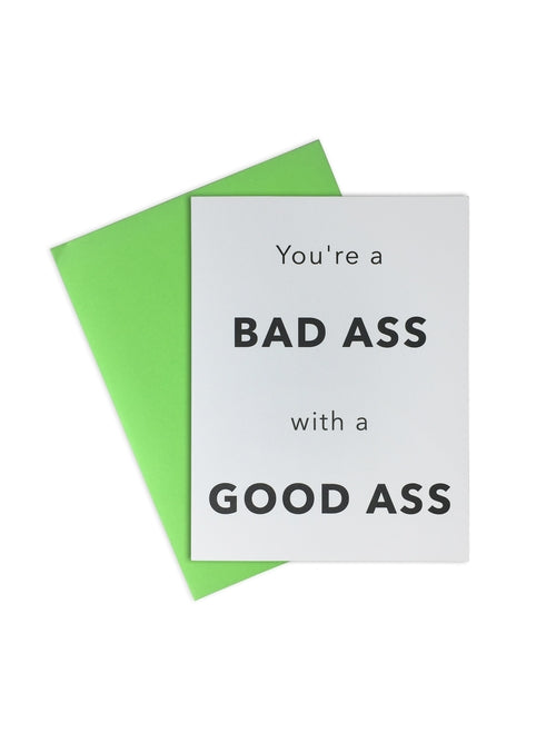 Bad Ass With a Good Ass Card