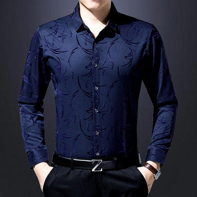Men's Social Long Sleeves Shirt