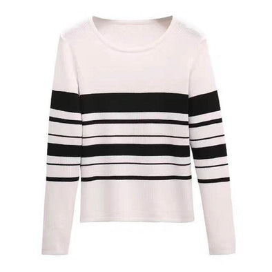 Striped Pullover Unisex Sweatshirt