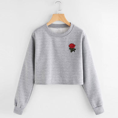 Rose Women's Sweatshirt