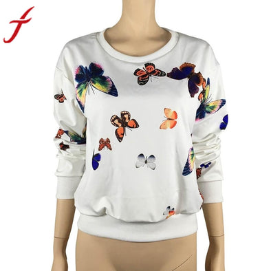 Fancy Butterfly Women's Sweatshirt
