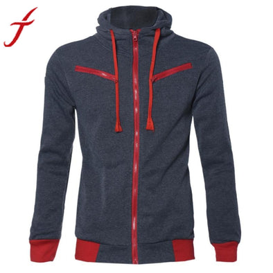 Men's Stylish Warm Hooded Sweatshirt