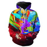 Astronaut Space Galaxy 3D Hoodie