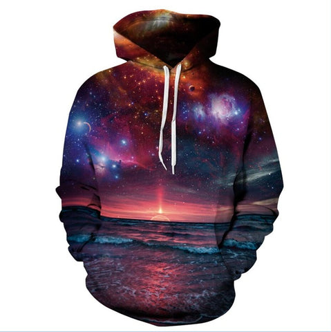 3D Galaxy Nebula Hoodies Sweatshirt