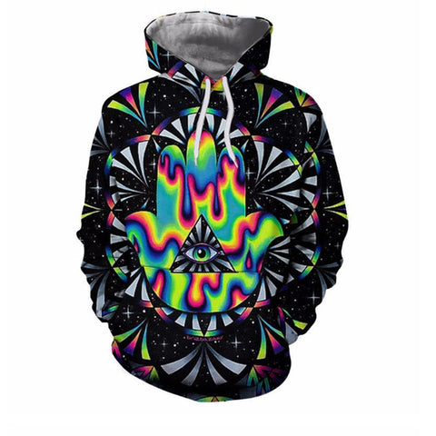 Illuminati 3D Hoodies