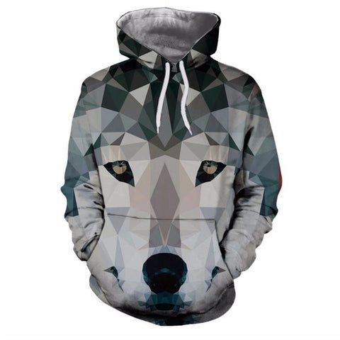 3D Gray Ombre Sweatshirt Hoodies