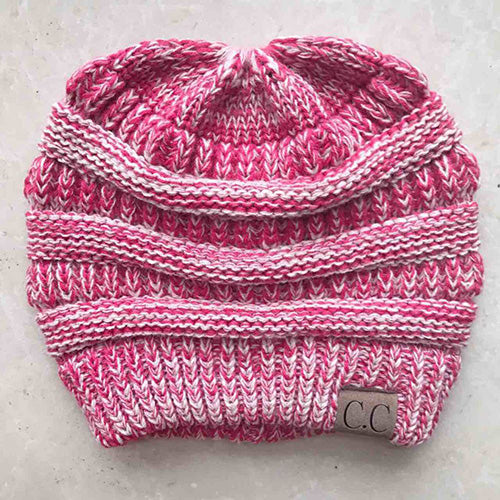 a24bbe4ba12 ... BONJEAN women warm hat Warm winter knitted Chunky Soft Slouchy ...
