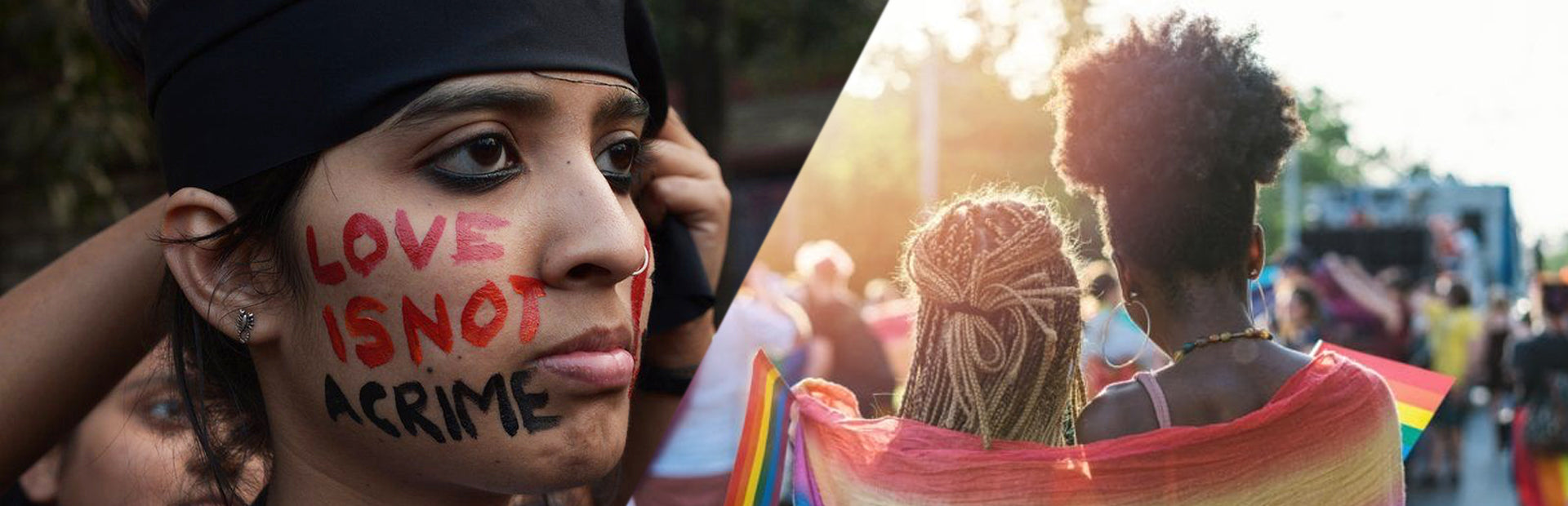 pride 2021 love is not a crime gay & lesbian