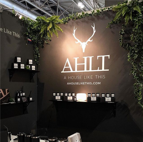 AHLT Stand at SpringFair 2019 - A House Like This best scented candles and home fragrances hand poured in the UK