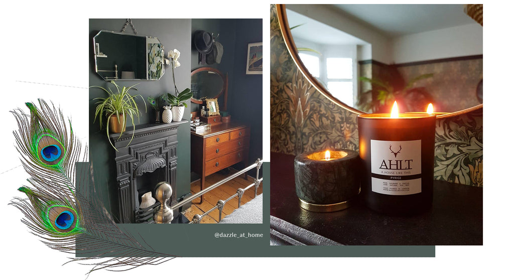AHLT luxury candle A HOUSE LIKE THIS dazzle_at_home