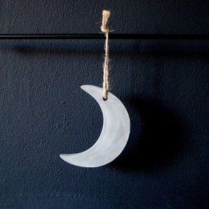 CRESCENT Concrete Moon Christmas Tree Decoration Christmas Decor AHLT