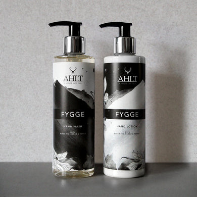 FYGGE HAND CARE | Black Fig, Cedarwood & Tonka Hand Wash & Lotion Hand Wash & Lotion Wash & Lotion Set