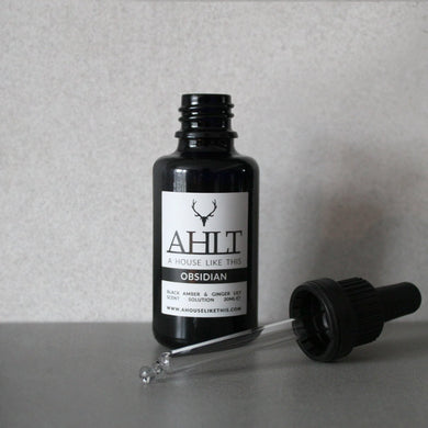 OBSIDIAN | Black Amber & Ginger Lily | Scent Solution Scent Solution A House Like This