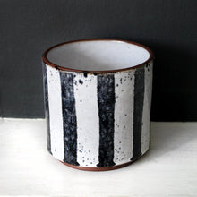 BETELGEUSE | Plant Pot | Navy & Grey Ceramic Plant Pot