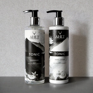 TONIC HAND CARE | Lime, Cucumber & Bergamot Hand Wash & Lotion Hand Wash & Lotion Wash & Lotion Set