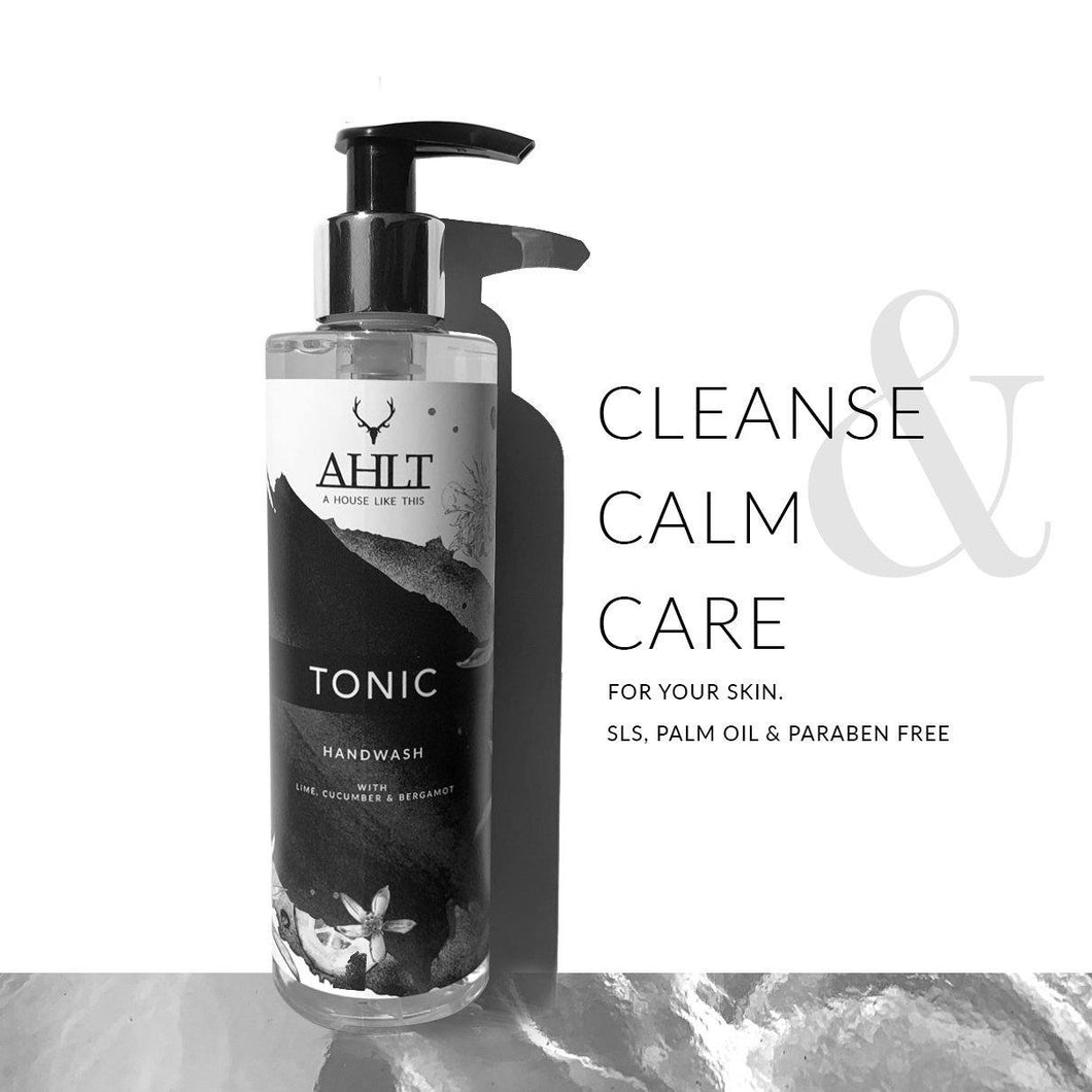 TONIC HAND CARE | Lime, Cucumber & Bergamot Hand Wash & Lotion Hand Wash & Lotion Hand Wash