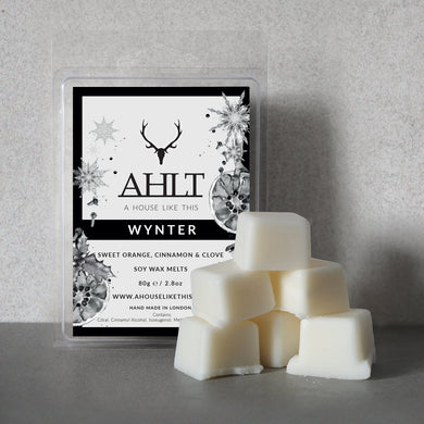 WYNTER | Sweet Orange, Cinnamon and Clove | Soy Wax Melts Wax Melt A House Like This