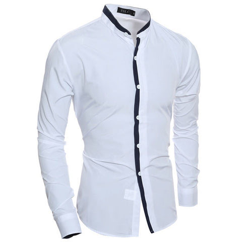 Camisa Casual Moderna Linea Frontal - en 6 Colores