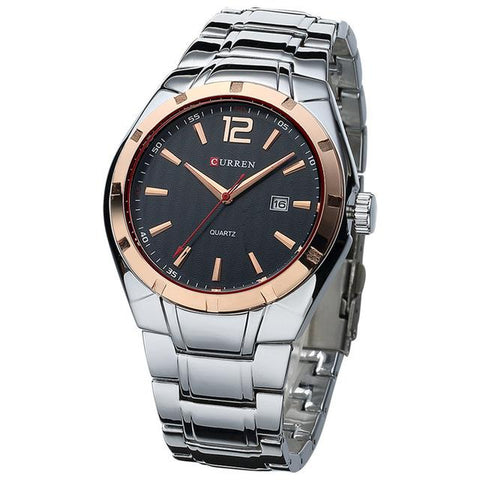 Reloj Masculino Fashion Curren - de Lujo Analogo