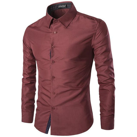 Camisa Casual/Social Fashion con Detalles - Shine Style - en 5 Colores