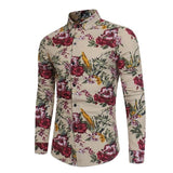 Camisa Estampada Fashion - Diseño Floral