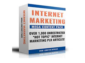 MEGA Internet Marketing PLR Content Pack