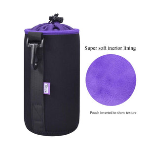 Camera Lens Protection Bag (kit of 4 pieces)
