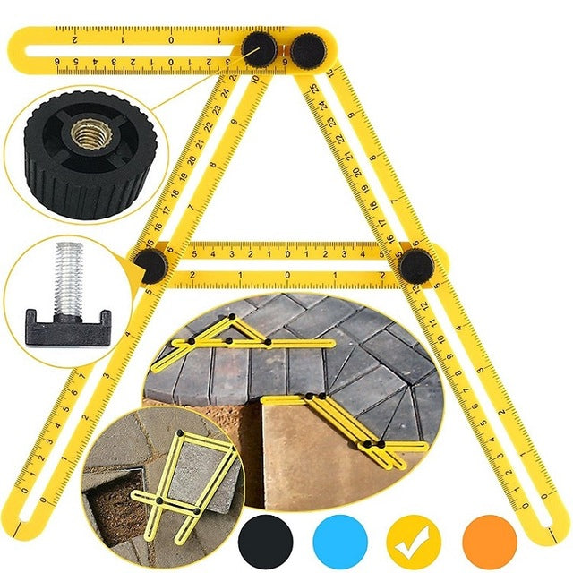 Multi Angle Measuring Ruler
