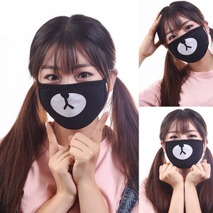Unisex Dustproof Cotton Mouth Mask Korean Kpop Star Style