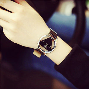 Unique Triangular Dial Fashion Watch FREE Shipping
