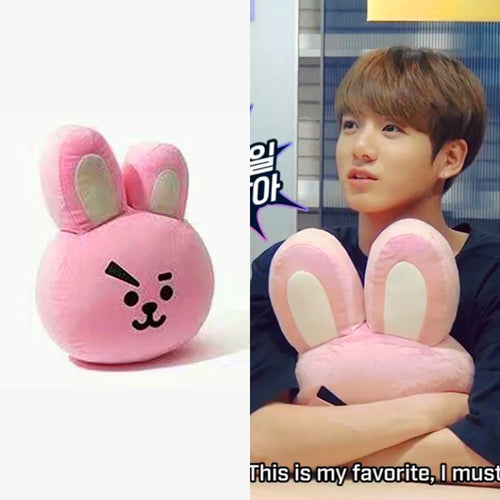 (HOT) Kpop Bangtan Pillow Plush Cushion