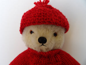 cute 1950s teddy bear, vintage collection, buy old teddy bear, Chad Valley collection
