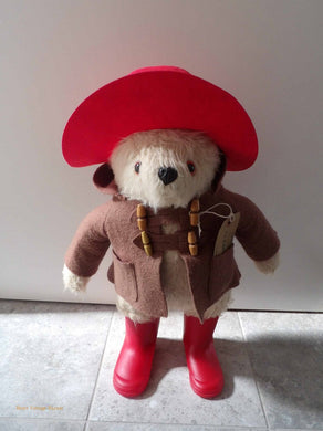 Gabrielle Paddington Bear, original Paddington teddy bear, vintage teddy bears, collectors bears, 1970's vintage bear