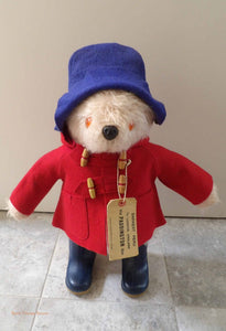 Gabrielle Paddington Bear, 1970's original paddington bear, collectible vintage teddy bears, handmade Gabrielle bears, collectors bear