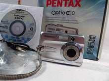 Pentax Optio E10 Camera, used digital cameras, used camera equipment, photography student kit, small camera